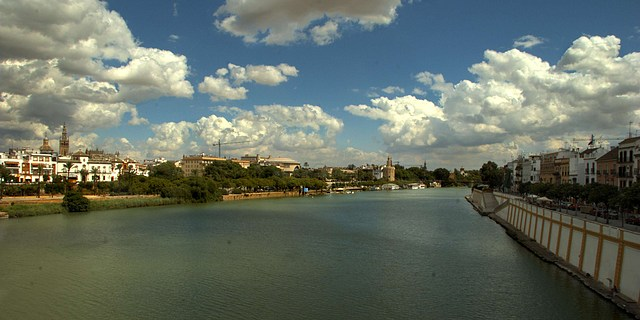Sevilla, the Guadalquivir, and Calle Betis