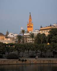 Guadalquivir in the evening and Giralda