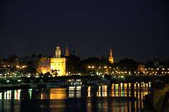 Seville at night  2